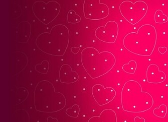 Nice Valentine Hearts Wallpaper Background