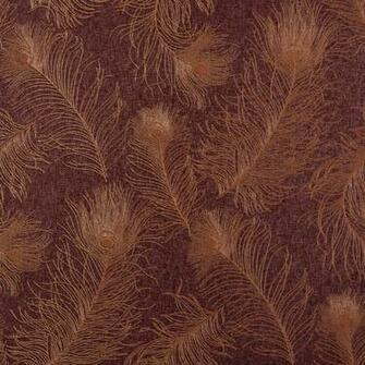 Burgundy and Copper Peacock Tail Wallpaper   Wall Sticker Outlet
