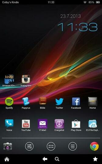 Installing Alternate Wallpaper Kindle Fire HD Android CowboyAndroid