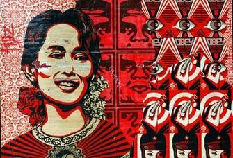 Propaganda Obey shepard fairey artist Shepard Fairey Obey Wallpaper