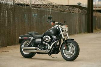 2008 Harley Davidson FXDF Dyna Fat Bob wallpaper background