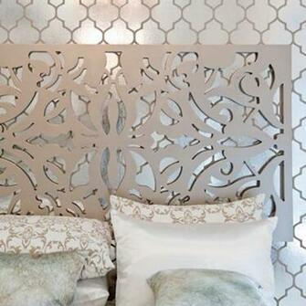 Brocade Home Foil Wallpaper Via Made By Girl