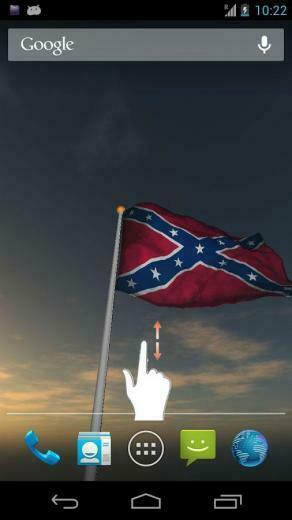 Real Rebel Flag Live Wall   screenshot