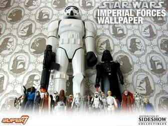 Star Wars Imperial Forces Wallpaper Miscellaneous Collectibles   Super