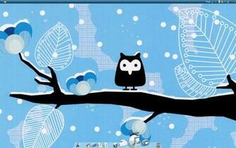 Cute Owl Winter Wallpaper wwwgalleryhipcom   The
