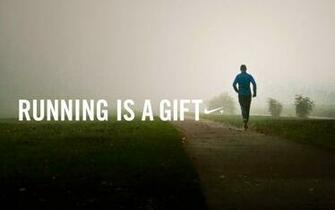 of Nike Running Quotes Health Wallpaper   best desktop backgrounds