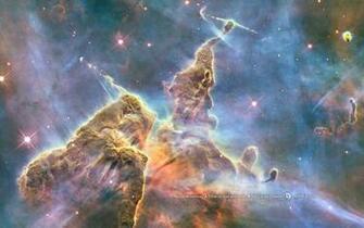 Hubble Mystic Mountain wallpaper   389533