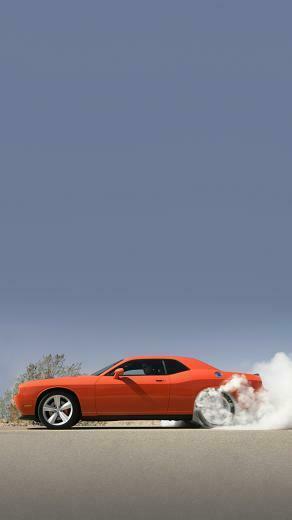 Dodge Challenger iPhone 5 Wallpaper 640x1136