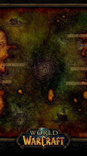 WOW World Of Warcraft iPhone 5 Wallpaper 640x1136