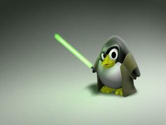 Desktop Wallpaper Jeday Linux Penguin Mascot HD Wallpaper