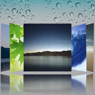 Original Apple iPad wallpapers by datadude3