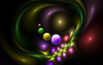 3D Bubbles wallpaper 136732