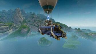 fortnite battle bus wallpaper 62254 Fortnite Pinterest Games