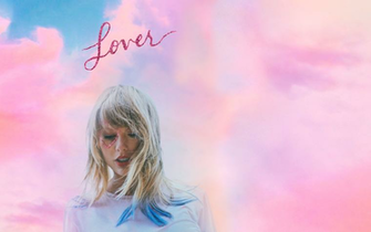 Made a desktop wallpaper featuring the Lover album cover and