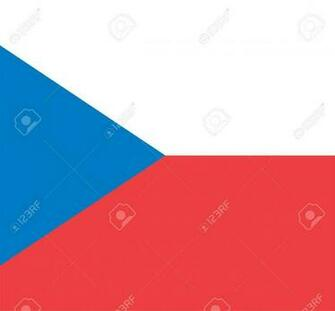 National Flag Of Czech Republic Country World Czech Republic