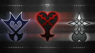 Kingdom Hearts Emblems Wallpaper by Pencil X Paper