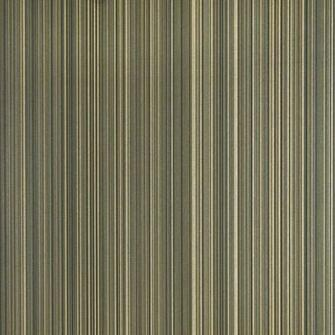 pinstripe wallpaper in black with metallic gilver and gold stripe