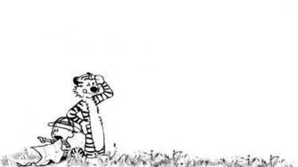 Calvin and Hobbes [5] wallpaper   Cartoon wallpapers   15303