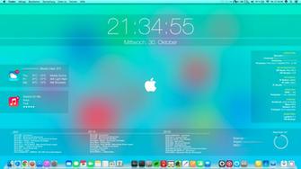 ios 7 desktop on mac os x mavericks by cndymn customization desktop
