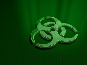 Pin Biohazard Sign Wallpaper