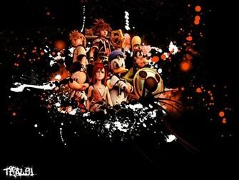 Kingdom Hearts PC Game Desktop Background 04 Imagez Only