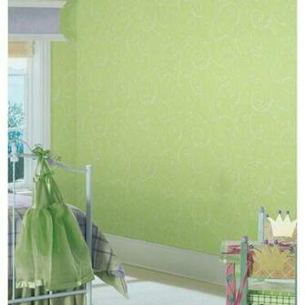 Removable Wall Decals   Perfect Princess Glitter Scroll Wallpaper