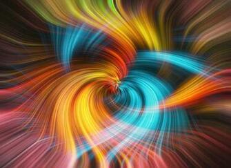 Abstract Background Blue Yellow And Orange by Nelieta Mishchenko