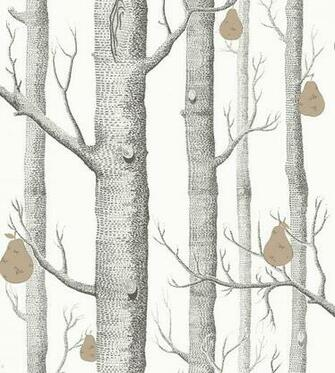 Woods And Pears Wallpaper by Cole Son Jane Clayton
