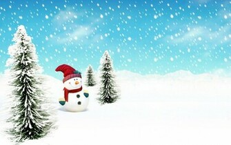 Cute Snowman Winter HD Wallpapers Download Wallpapers in HD for