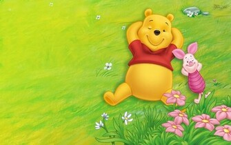 Just relaxing or   Winnie The Pooh Wallpaper