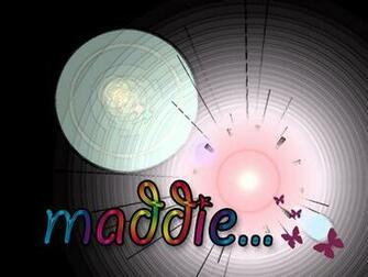 Custom Name Wallpaper   Maddie by Madelaine00x