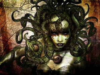 Medusa Illustration An illustration of Medusa In Greek mythology
