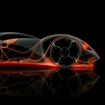 abstract cars orange neon wallpaper Car Pictures