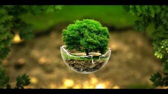 Surreal Nature Sphere HD Wallpaper FullHDWpp   Full HD Wallpapers