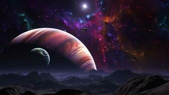 Space planet galaxy planets star stars univers wallpaper 2560x1440
