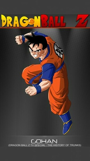 Gohan   Dragon Ball Z Mobile Wallpaper 12375