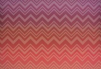 MI20091 Missoni Home Zig Zag Sfumato Wallpaper   Coral Ombre