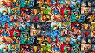 similar image search for post Superhero Collage [1920x1080]   Reverse