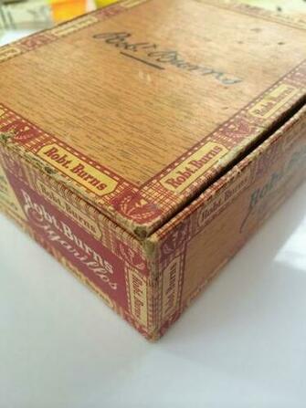 Cigar Box Background Altered cigar box