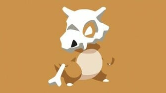Simple Cubone Wallpaper by oOxCriesInVainxOo