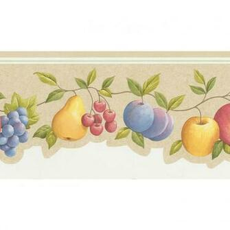 Fruit Wallpaper For Kitchen Buy Galerie Vine Fruit Kitchen