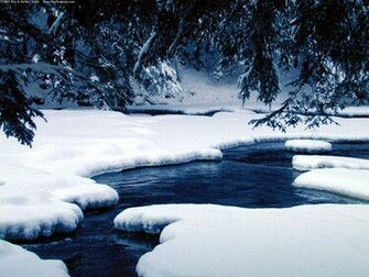 Winter Window Scene Winter Nature Backgrounds River Ice naturejpg