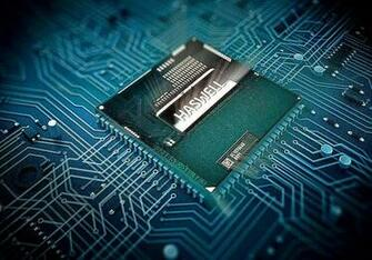 Processor Chip Computer Wallpaper Background Wallpapers