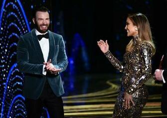 Chris Evans images Chris Evans and Jennifer Lopez onstage during