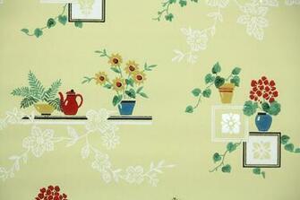 Home 1940s 1950s Kitchen 1950s Kitchen Vintage Wallpaper