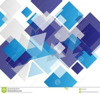 Stock Photos Blue modern geometric abstract background