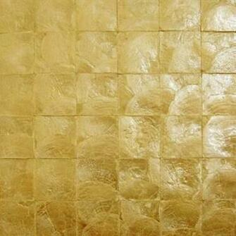 Capiz Shell Wallpaper Bronze The Eco Decor Store
