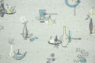 1950s Kitchen Vintage Wallpaper Hannahs Treasures Vintage