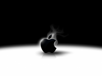 Apple Mac widescreen hd wllpapers with black  white backgrounds