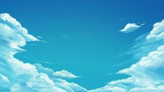 Blue sky wallpaper 14366